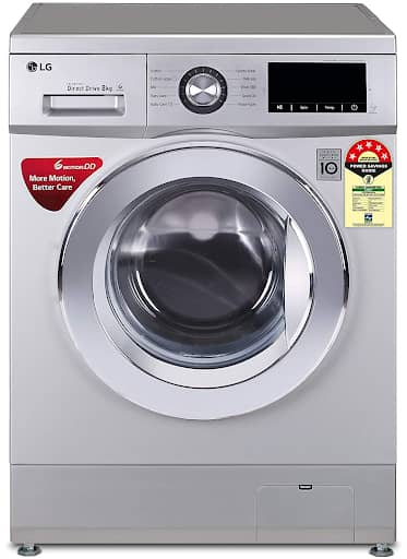 LG 8.0 Kg Fully-Automatic Front Loading Washing Machine