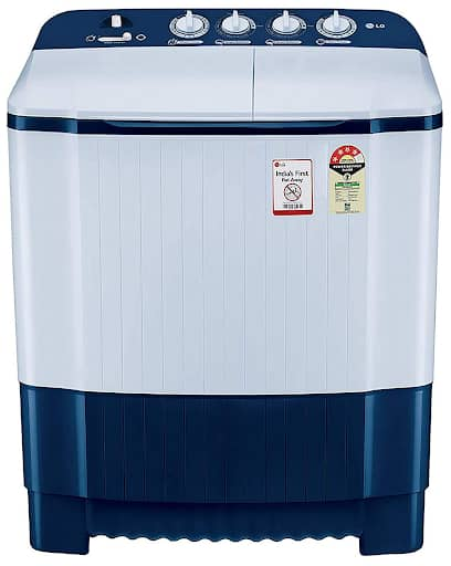 LG Semi-Automatic Top Loading Washing Machine Dark Blue