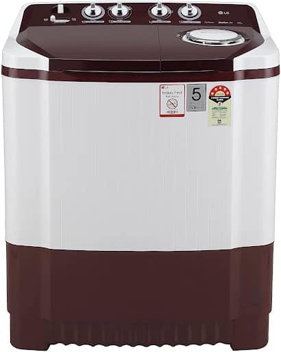 LG Semi Automatic Washing Machine Burgundy Color