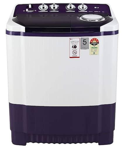 LG Semi Automatic Washing Machine Purple Color