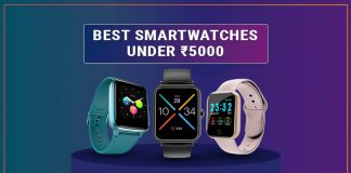Top 10 Smartwatches To Buy Under 5000